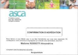Agrégation ASCA